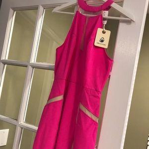 Trendy Pink Mika & Gala Dress NEW